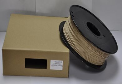 Synergy 21 3D Filament WOOD /Solid /3 mm/ hell Wood color