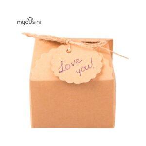 mycusini® Geschenkeverpackung Natural  (4Stück)